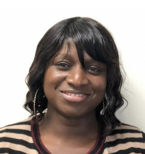 Vivette Epie is our Caregiver of the Month